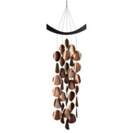 Woodstock waves wind chime