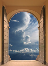 window view of clouds how to relieve stress naturally